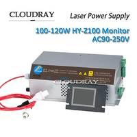 Cloudray лазерной Питание 100 120 Вт AC90 250V EFR трубка для co2 лазерная гравировка Резка машины Z100 ce сертификат