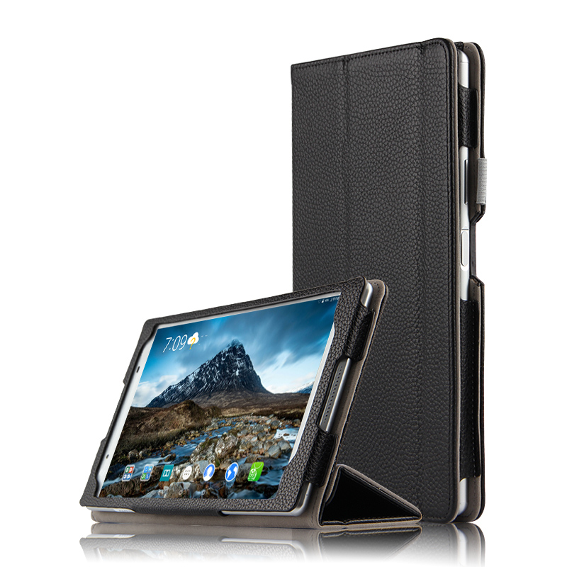 High Quality Genuine Real Leather Stand Shell Skin Cover Mangetic Coque Funda Case For Lenovo Tab4 8 TB-8504F TB-8504N 8 Tablet купить