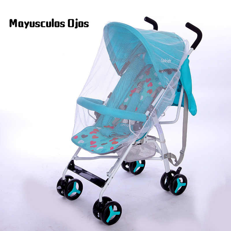 1PC Universal Mosquito Net Enlarge Encryption Baby Stroller Mosquito Net Full Cover Children Trolley Mosquito Net Crib Net