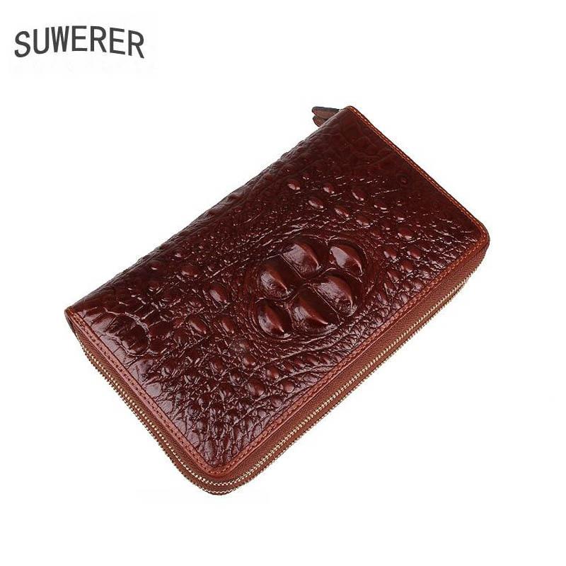 Homens bolsas De Couro genuíno para homens homens sacos de 2019 novas bolsas de luxo designer de couro mens carteiras e bolsas Envelope embreagem saco - 6