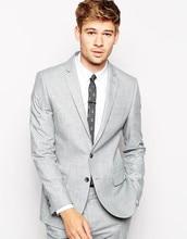 Latest Coat Pant Designs Light Grey Formal Custom Wedding Suits For Men 2 Pieces Best Man Beach Slim Fit Tuxedo Masculino H1