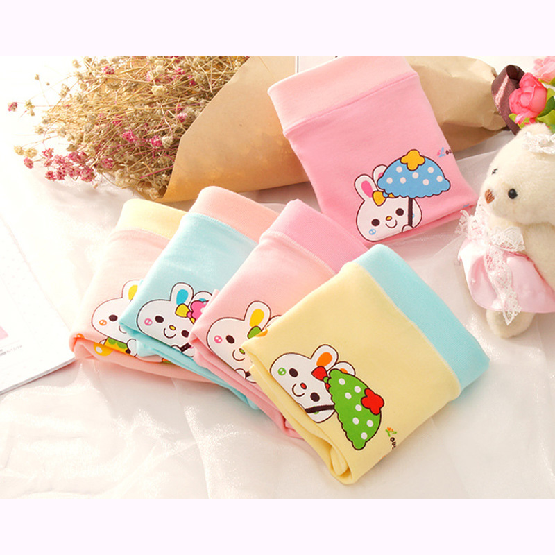 New arrived 2018 Girls Underwear Free Shipping lovely Kids cotton character children short boxer panties 5pcs/lot 4-10year