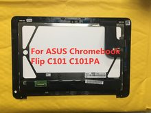 Original 100% tested For ASUS C101p C101PA 10.1 inch tablet lcd display with touch screen digitizer Assembly replacement parts(China)