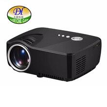 Todos Ganan 1200 lúmenes Proyector 3D Home TV LCD Vídeo Projetor Lente de Enfoque Corto 1080 p AV HDMI Altavoz Incorporado Audio Mini288