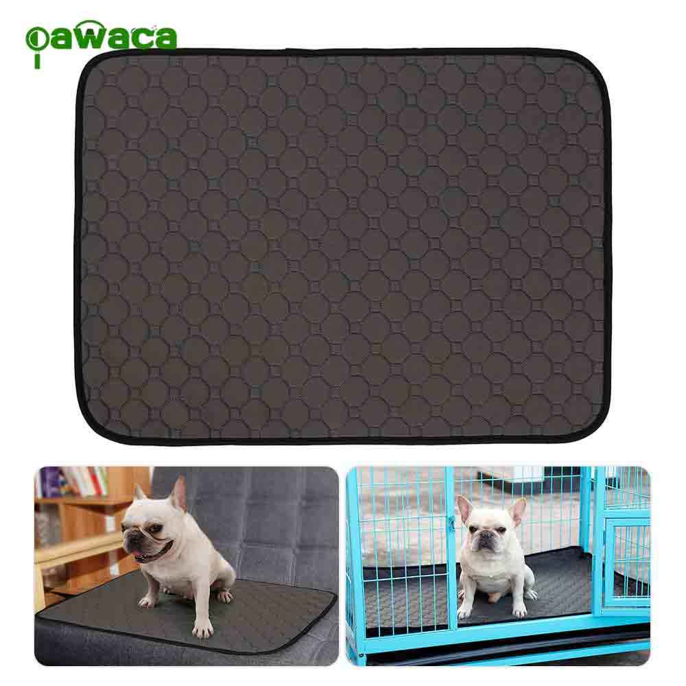 Pet Pee Pad Anti-Slip Waterproof Puppy Pee Mats Reusable Machine Washable Dog Training Pee Pads Fast Absorbing for Training Dog