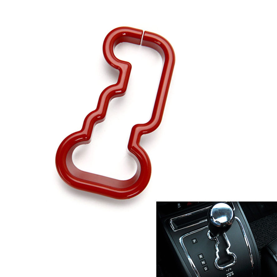 ⑥Interior del coche ABS plástico car Gear shift panel cubierta del ...