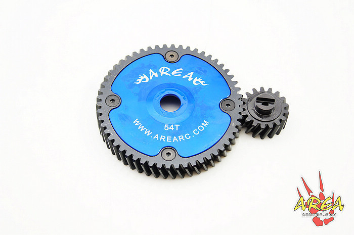 Area Rc Helical Gear Tooth 51/20 52/19 53/18 54/17 for BAJA 5B 5T 5SC