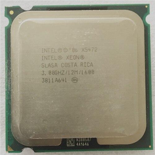 INTEL X5472 CPU processor /3.0GHz /LGA771/12MB L2 Cache/ Quad- Core/ Works on LGA775 motherboard