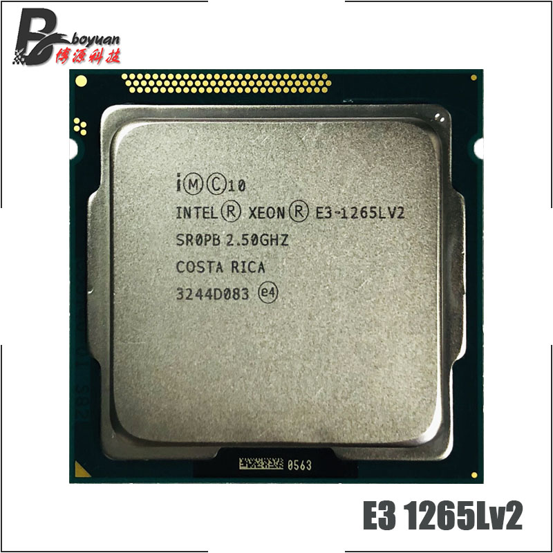Intel Xeon E3 1265L v2 E3 1265Lv2 E3 1265L v2 2 5 GHz Quad Core Eight
