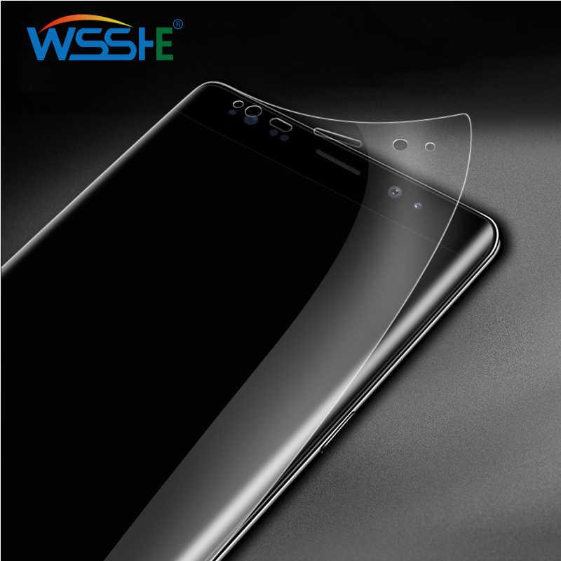واقي للشاشة S10 بلس لايت لهاتف سامسونج جالاكسي S8 S9 S10 بلس واقي للشاشة لاجهزة سامسونج نوت 9 8 S6 S7 Edge plus Soft film