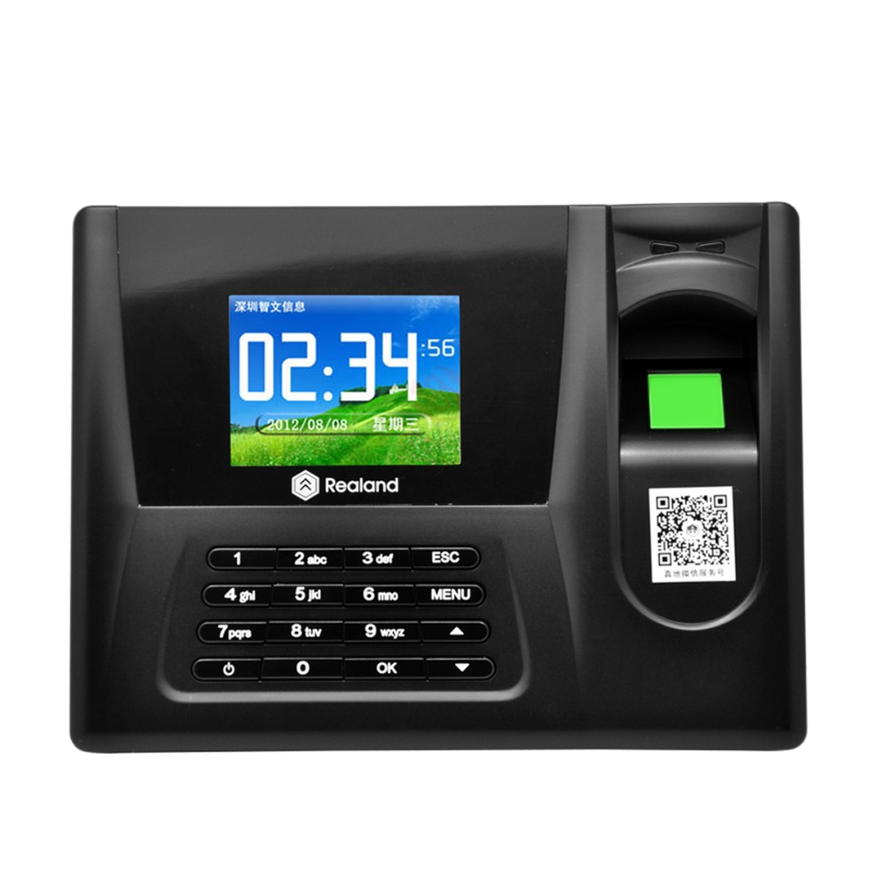 Color screen fingerprint attendance machine card password, fingerprint  Door Access Control System