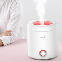 Deerma Portable Large Capacity Household Mute Humidifier Aromatherapy Diffuser Energy Saving Design 360 Rotation Humidifier