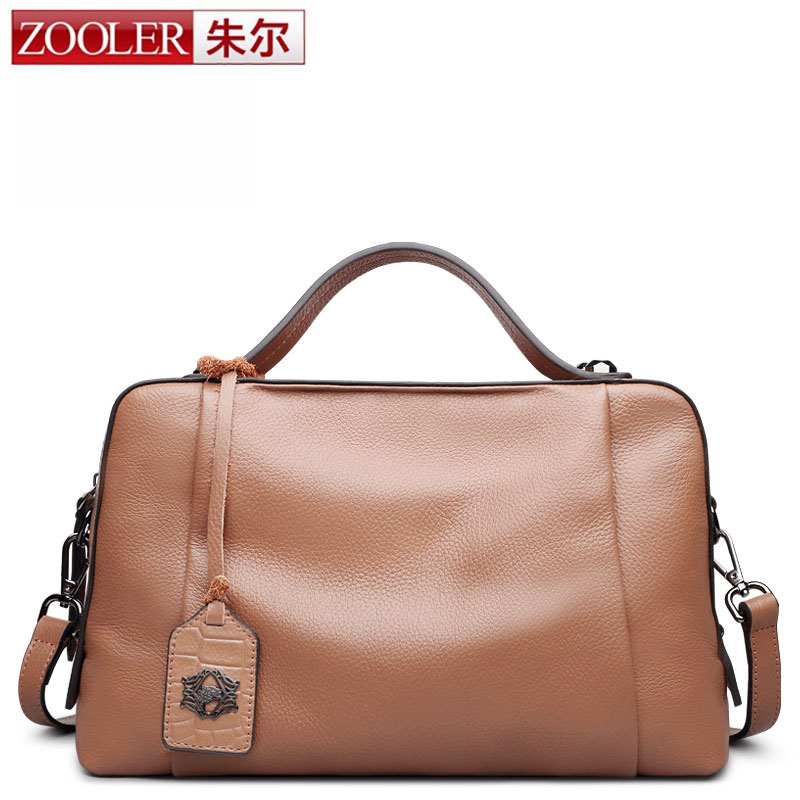 ZOOLER Designer Soft Genuine Leather Bags Ladies Famous Brand Women Handbags High Quality Tote Bag for Women Fashion Hobo Bolsos 2017 new arrival designer women leather handbags vintage saddle bag real genuine leather bag for women brand tote bag with rivet