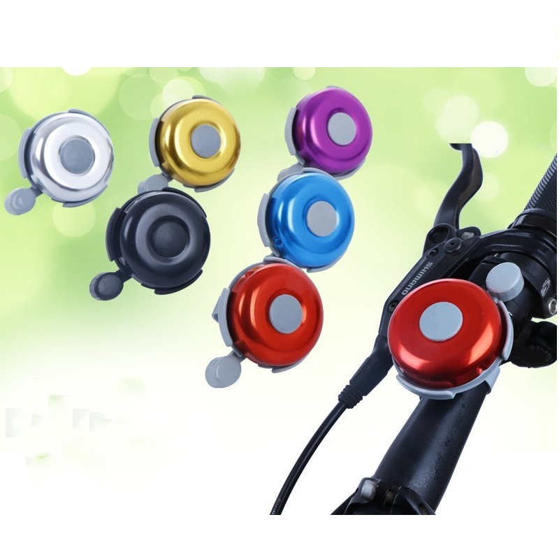Bicycle Bell Mountain Bike Bell Handlebar Alarm Horn Ring Cycling Accessories LS