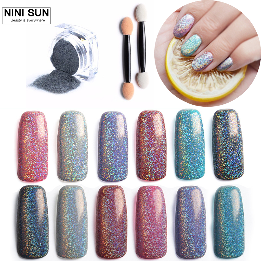 3 Box Magic Chrome Laser Nail Art Glitter Powder Brillantini Rainbow Shinning Mirror Pigment Fine Dust Diy Uv Gel Polish In From Beauty
