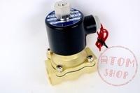 N C 2 Way 3 4 Gas Water Pneumatic Electric Solenoid Valve Water Air 2W200 20
