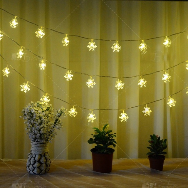 30pcs String Nightlight Led Lighting Home Decor For Children Christmastree Wedding Light With Battery Decorative
