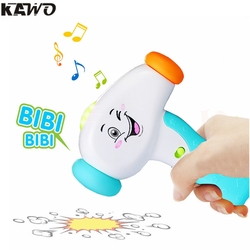 Kawo kids fun electric music sound play hammer interactive sound effect music toys with big smile.jpg 250x250