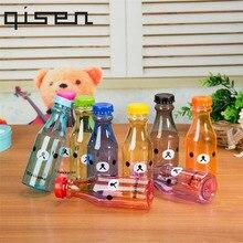 Qisen Bear Water Bottle BPA Free Unbreakable Water Bottles P