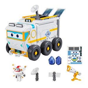 Image 4 - Figuras de ação de caminhão de bombeiros, super asas, cenário de exploração espacial, loja, resgate, veículo, caminhão de bombeiros, brinquedos infantis, presente 2a03