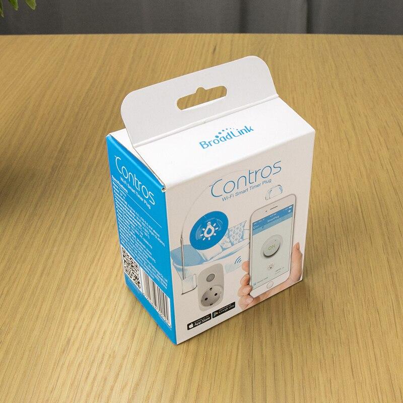 Купить с кэшбэком Broadlink SP3  EU US Plug Wifi Power Socket Switch Wireless APP Remote Socket Outlet Timing Switch for Smart Home Automation