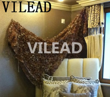 VILEAD 6M x 9M (19.5FT x29.5FT) Desert Military Army Camouflage Net Digital Camo Netting Sun Shelter for Hunting Camping Tent