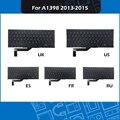 Новая сменная Клавиатура для ноутбука UK/US/русский/Французский/Испанский макет для Macbook Pro Retina 15