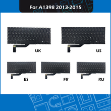 New Laptop Replacement Keyboard UK/US/Russian/French/Spanish Layout For Macbook Pro Retina 15″ A1398 Keyboard 2013-2015 Year