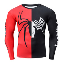 Newest Arrival Spiderman 3D Printed T shirts Men Compression Shirts Comics Tops For Male Cosplay Costume Streetwear Clothing