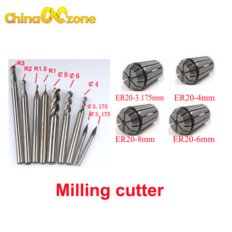 """shank HRC55 carbide Tapered Ball Nose End Mills 3.175mm 3 pcs R0.25 1//8/"""""""