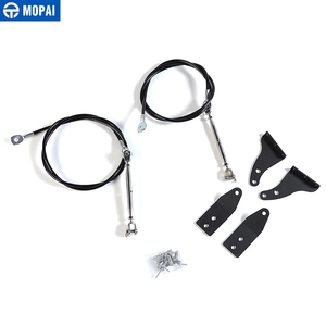 Image 4 - Mopai保護フレーム用ジープラングラーtj 1997 から 2006 フードラッチ障害物排除ロープ四肢ライザー用ジープアクセサリー