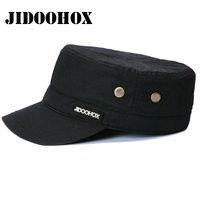 High Quality Classic Vintage Military Hats With 100 Cotton For Men Women Flat Field Caps Fitted