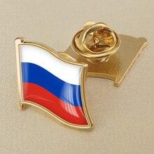 Россия один флаг нагрудные булавки
