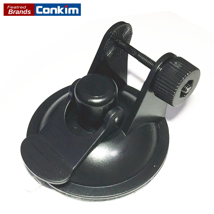 Conkim Quality Easy Operation U Style Suction Cup Holder For Car DVR X3000/GS1000/GS5000 Mount Holder Bracket GPS Accessories conkim mini car suction cup holder for car cam dvr windshield stents car gps navigation accessories