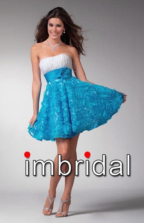 5c43cf93db Vestidos de graduacion en color azul turquesa – Vestidos baratos
