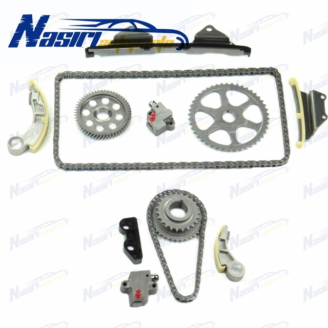 US $118 17 35% OFF|Timing Chain Kit & Oil Pump Chain Tensioner For Honda  Accord Civic CRV FRV 2 2 CTDi-in Timing Components from Automobiles &
