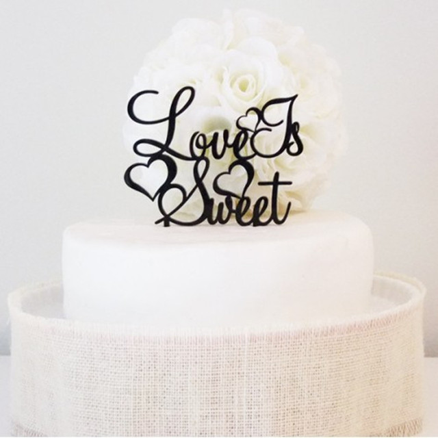 Wedding Cake Topper Props Love Is Sweet Wedding Cake Stand Acrylic