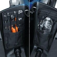 Мотоцикл сума Органайзер жесткие сумки чехол для хранения для Harley HD Softail Dyna Touring Road King Street Electra Glide Ultra