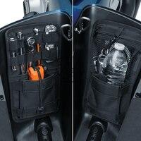 10 комплектов седельная сумка органайзер Твердые мешки чехол для Harley HD Softail Dyna Touring Road King Street Electra Glide Ultra