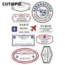 Aviation Postmark Transparent Clear Stamps for Scrapbooking DIY Silicone Seals Photo Album Embossing Folder Paper Stencils Craft