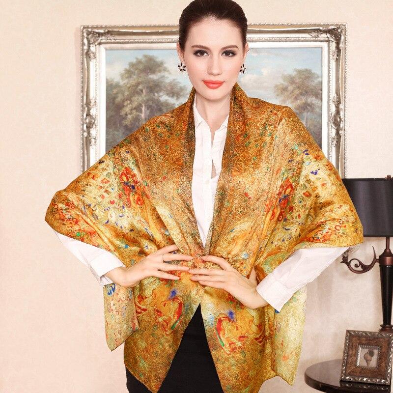 DANKEYISI Hot Desigual Scarf Nature Silk Luxury Scarf för kvinnor Blommig sommar Halsduk Mode Halsduk Kvinna Gratis frakt