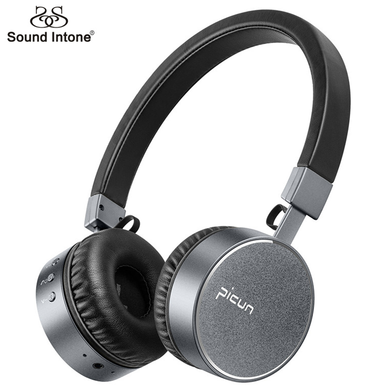 Sound Intone Bluetooth Headphones with Microphone P10 Portable Headset For Xiaomi MP3 fone de ouvido Stereo Wireless Earphones awei stereo earphones headset wireless bluetooth earphone with microphone cuffia fone de ouvido for xiaomi iphone htc samsung