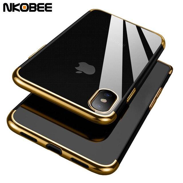 Transparent Iphone  Case With Design