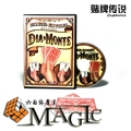 2016 New DiaMonte  comedy,mental close-up stage street floating magic tricks products toys