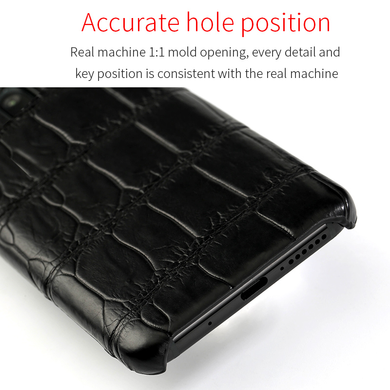 Image 4 - Luxury Natural Crocodile Leather case For Samsung Galaxy s10 S7 S9 S8 plus cover For Note 10 plus 8 9 a50 a70 A10 A30 a7 a8 2018-in Fitted Cases from Cellphones & Telecommunications