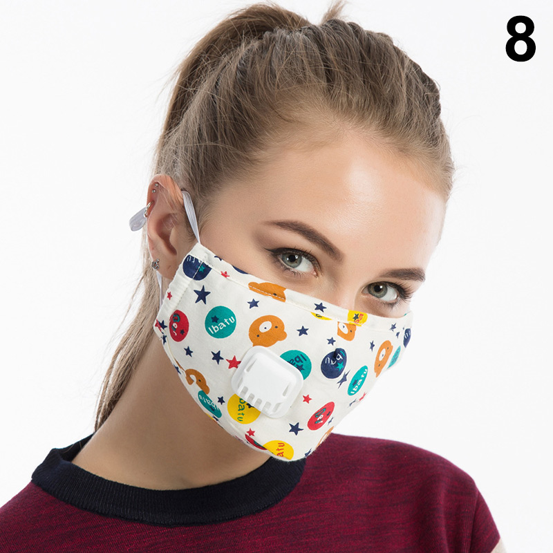 1 Pcs Mouth Face Mask Cotton Dustproof Breathable PM2.5 For Outdoor Cycling Winter GDD99