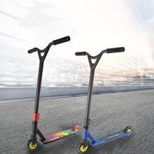 Profissional stunt scooter bmx guiador scooter esportes radicais profissional