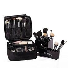 Новая модная женская сумка для макияжа, водонепроницаемая, портативная, для хранения, Корейская, для путешествий, дома, для мытья, косметичка