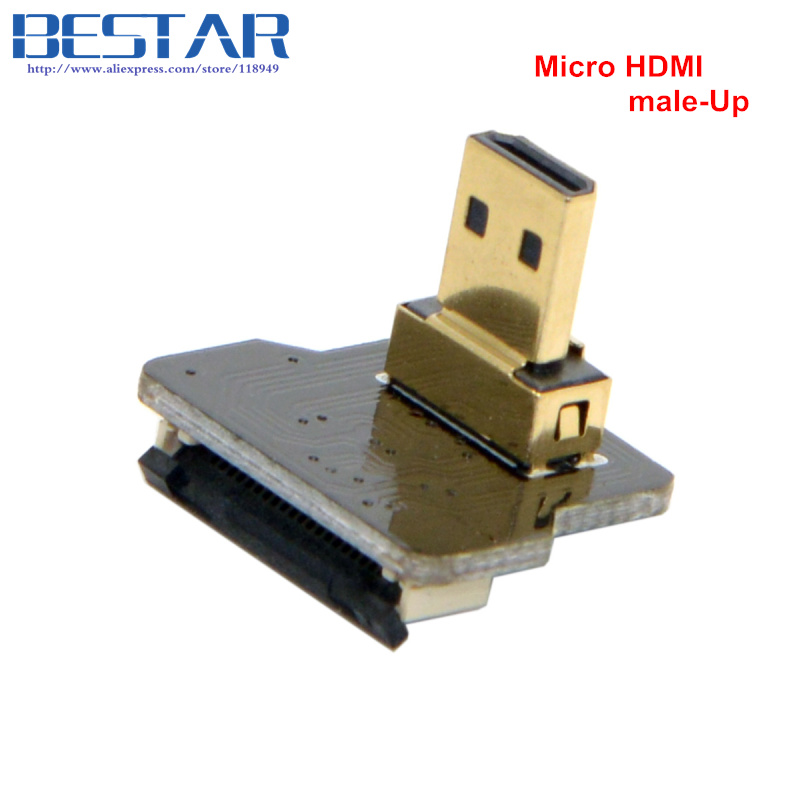 CYFPV Micro HDMI Type D Female-socket & male-Straight & male-Up & - Computer kabels en connectoren - Foto 4