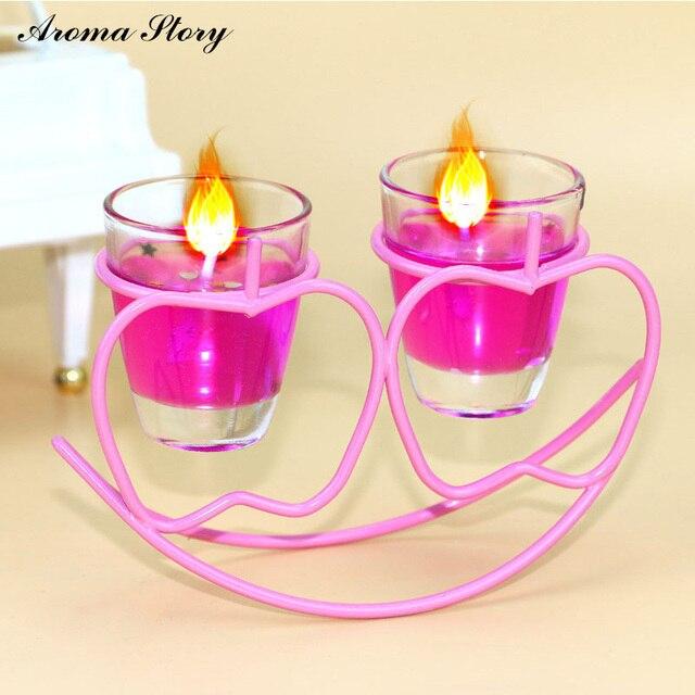 Aroma Story 4pcs Lot Whole Best Gel Wax Luxury Star Heart Le Shape